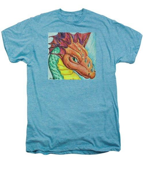 Dragon Portrait Men's Premium T-Shirt
