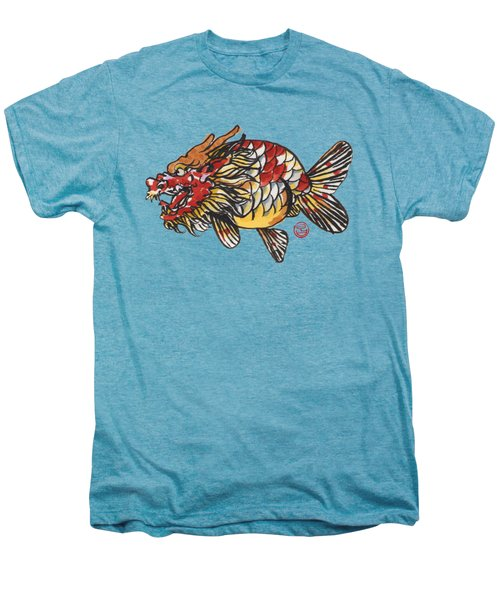Dragon Ranchu Men's Premium T-Shirt by Shih Chang Yang