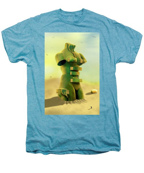 Drawers 2 Men's Premium T-Shirt by Mike McGlothlen