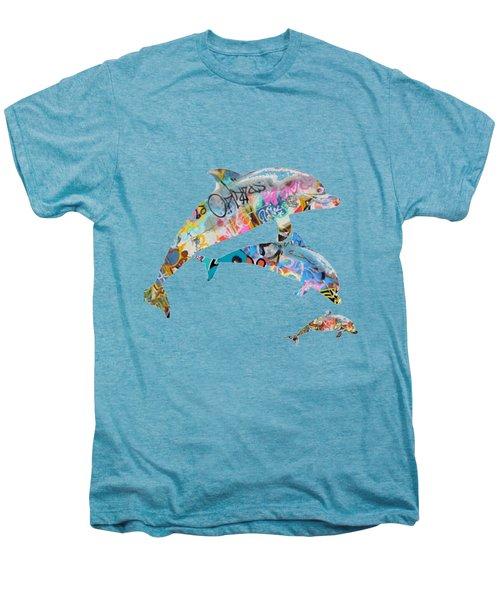 Dream Pod Blue Men's Premium T-Shirt