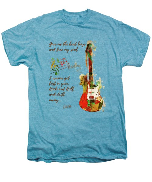 Drift Away Men's Premium T-Shirt by Nikki Marie Smith