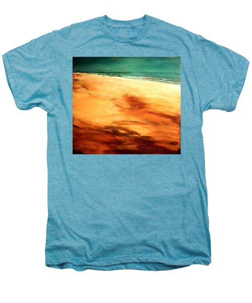 Men's Premium T-Shirt featuring the painting Dune Shadows by Winsome Gunning