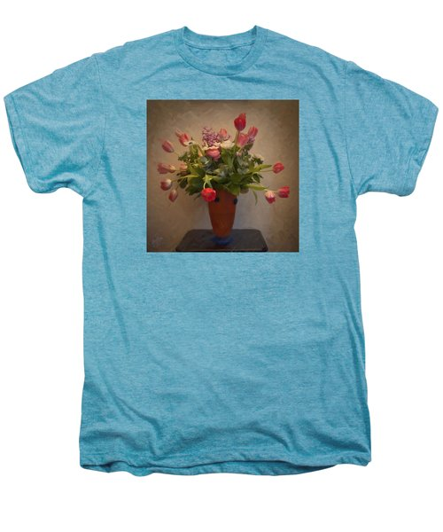 Dutch Flowers Blooming Men's Premium T-Shirt