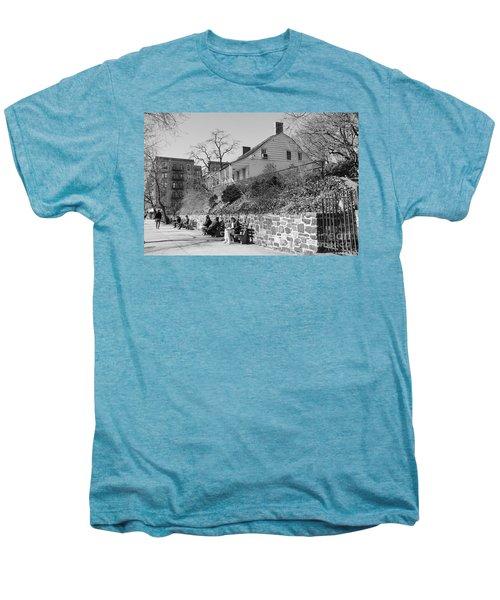 Dyckman Farmhouse  Men's Premium T-Shirt by Cole Thompson