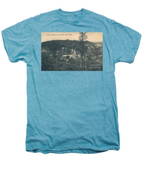 Dyckman Street At Turn Of The Century Men's Premium T-Shirt by Cole Thompson