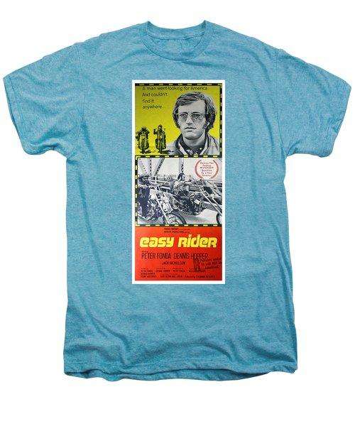 Easy Rider Movie Lobby Poster  1969 Men's Premium T-Shirt