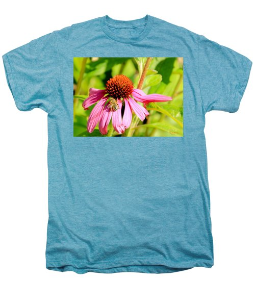 Echinacea Bee Men's Premium T-Shirt