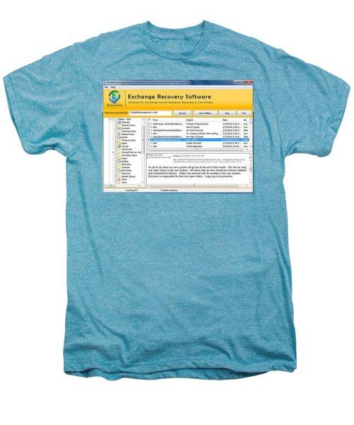 Edb To Ps T Software  Men's Premium T-Shirt by Tomcruise