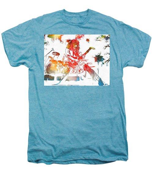 Eddie Van Halen Paint Splatter Men's Premium T-Shirt