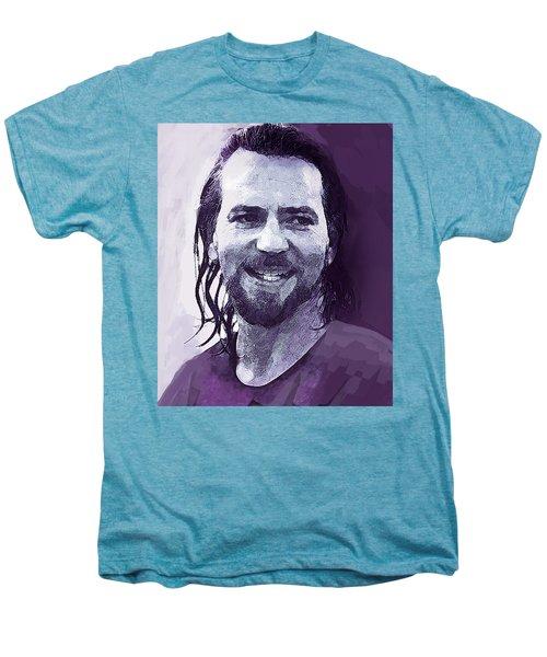 Eddie Vedder Pearl Jam  Men's Premium T-Shirt by Enki Art