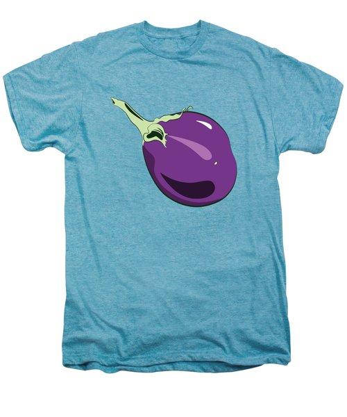 Eggplant Men's Premium T-Shirt