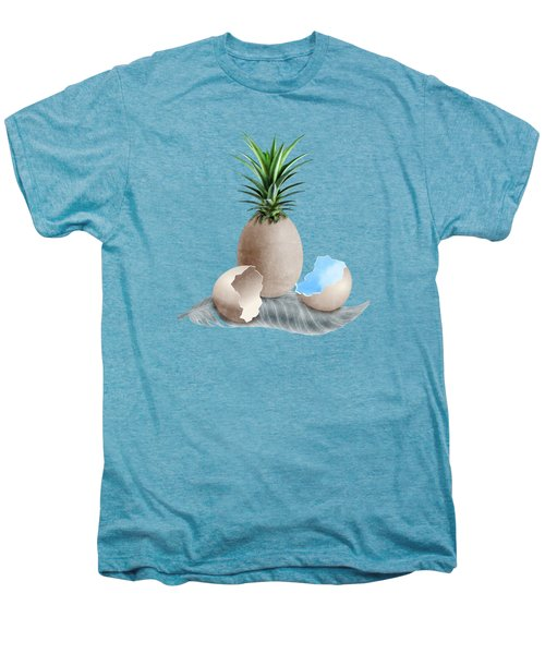 Eggs On A Feather Men's Premium T-Shirt by Absentis Designs