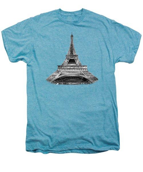 Eiffel Tower Design Men's Premium T-Shirt by Irina Sztukowski