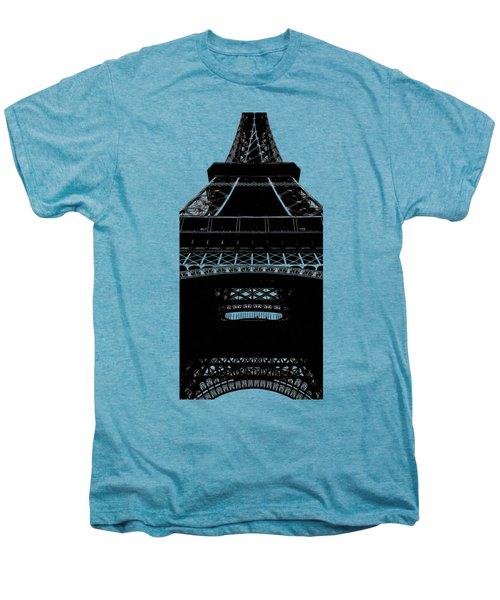 Eiffel Tower Paris Graphic Phone Case Men's Premium T-Shirt by Edward Fielding