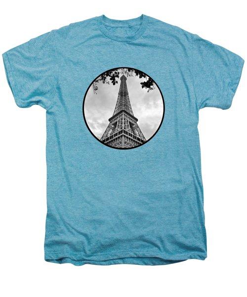 Eiffel Tower - Transparent Men's Premium T-Shirt by Nikolyn McDonald