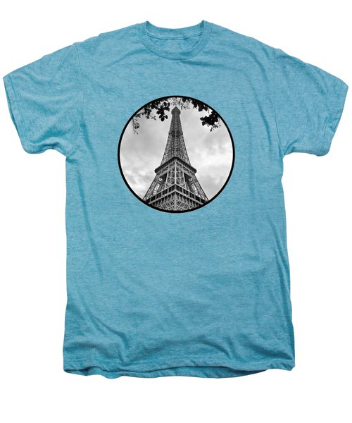 Eiffel Tower - Transparent Men's Premium T-Shirt