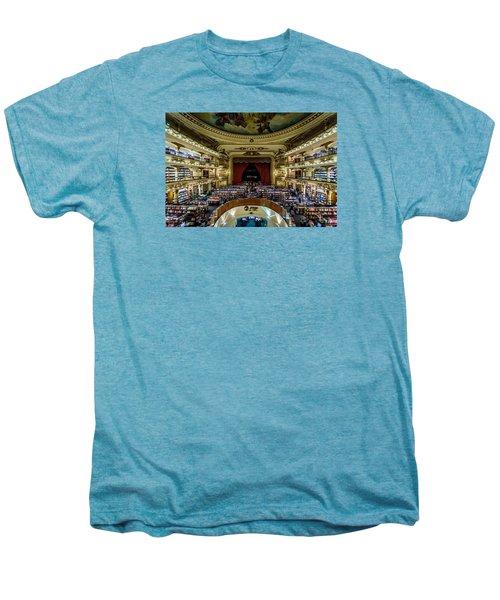 El Ateneo Grand Splendid Men's Premium T-Shirt by Randy Scherkenbach