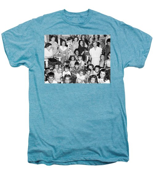Eleanor Roosevelt And Children Men's Premium T-Shirt