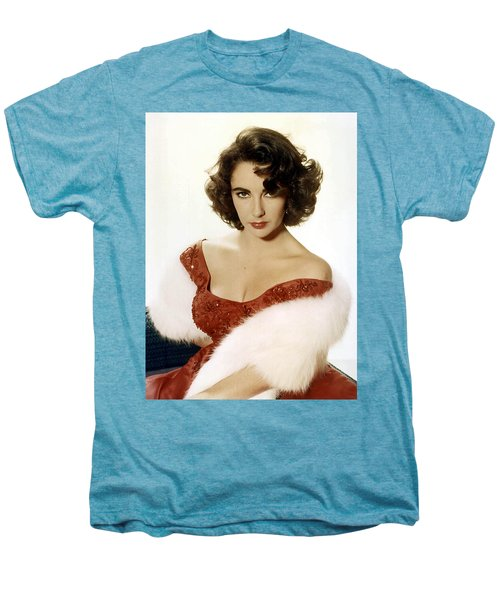 Elizabeth Taylor Men's Premium T-Shirt by American School