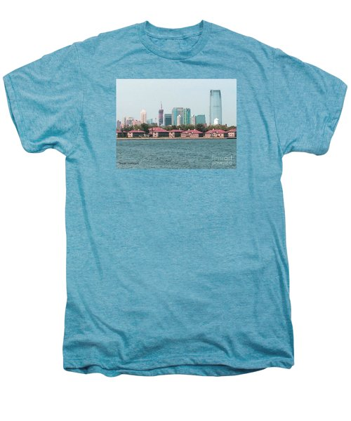 Ellis Island And Nyc Men's Premium T-Shirt