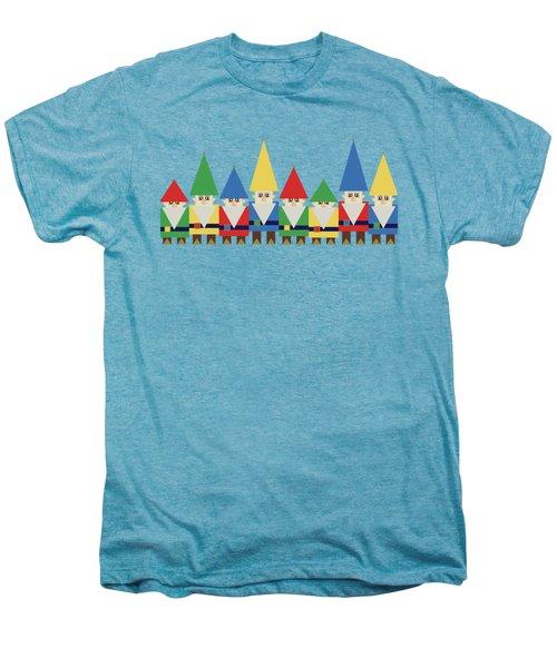 Elves On White Men's Premium T-Shirt