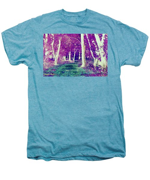 Emerald Path Men's Premium T-Shirt