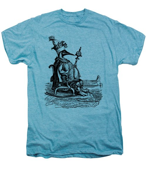 Empire Penguin Grandville Transparent Background Men's Premium T-Shirt