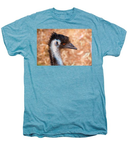 Emu Profile Men's Premium T-Shirt by Mike  Dawson