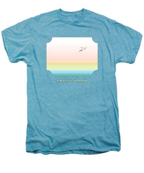 Endless Summer - Yellow Men's Premium T-Shirt