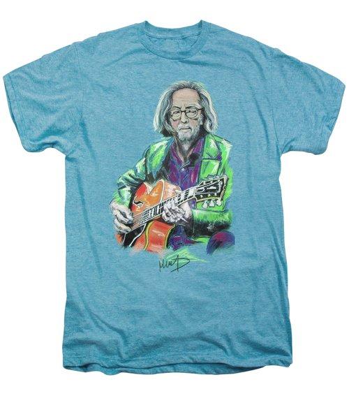 Eric Clapton Men's Premium T-Shirt by Melanie D
