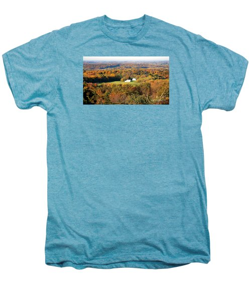 Men's Premium T-Shirt featuring the photograph Erin Wisconsin  by Ricky L Jones