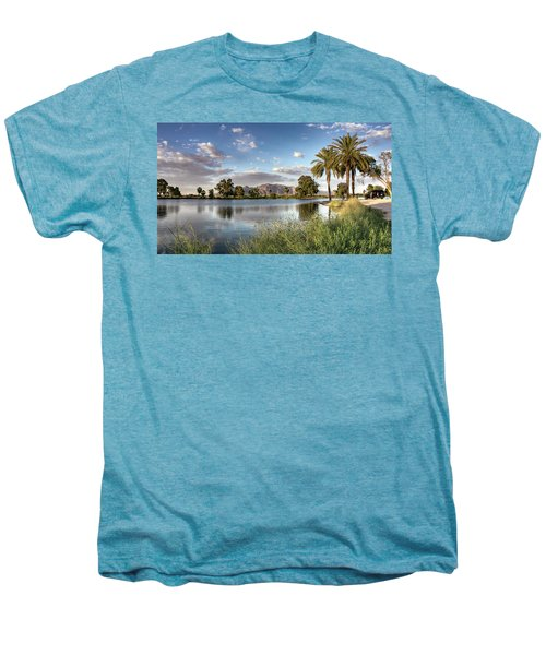 Evening Fishing Men's Premium T-Shirt