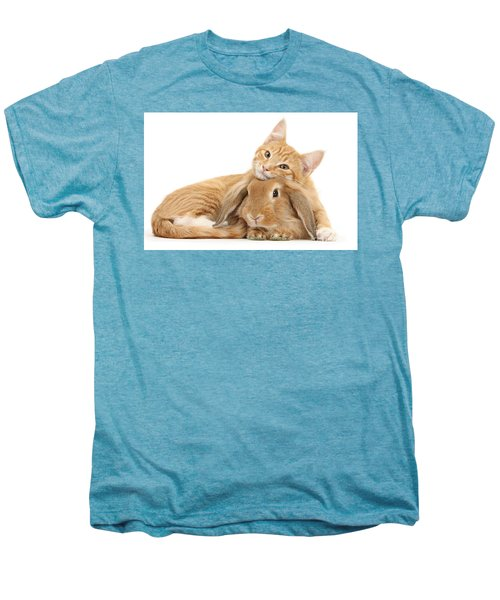 Everybody Needs A Bunny For A Pillow Men's Premium T-Shirt