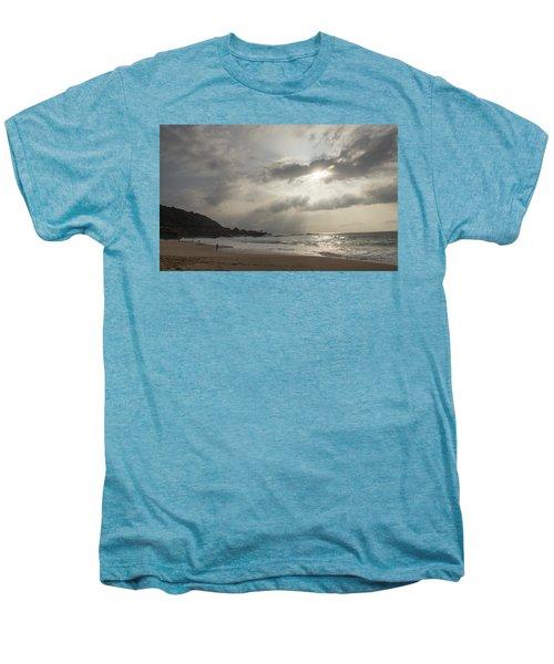 Eye To Eye Men's Premium T-Shirt by Alex Lapidus