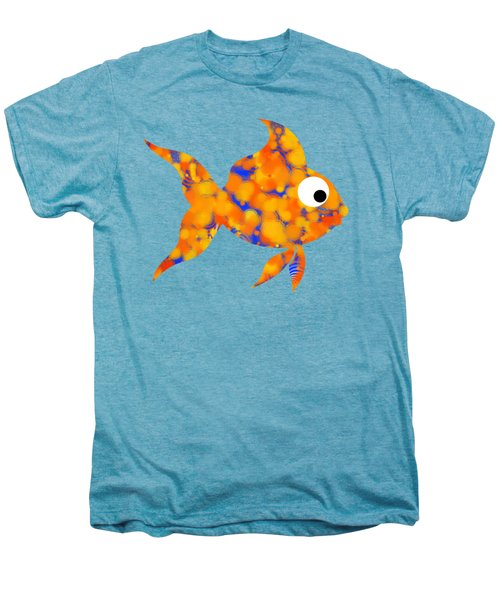 Fancy Goldfish Men's Premium T-Shirt by Christina Rollo