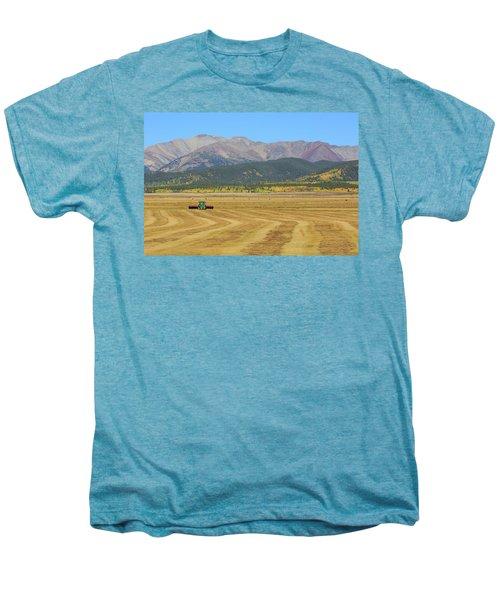 Farming In The Highlands Men's Premium T-Shirt
