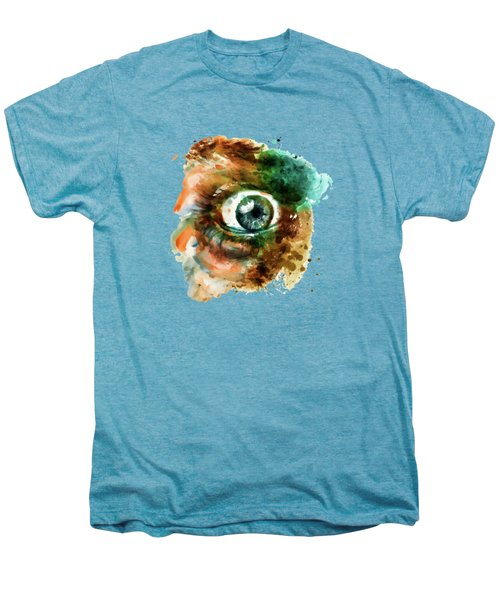Fear Eye Watercolor Men's Premium T-Shirt