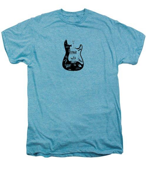 Fender Stratocaster 54 Men's Premium T-Shirt by Mark Rogan