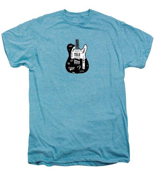 Fender Telecaster 58 Men's Premium T-Shirt by Mark Rogan