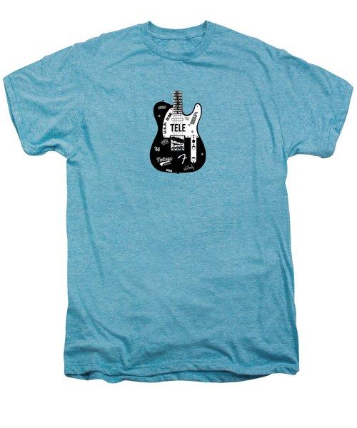 Fender Telecaster 64 Men's Premium T-Shirt by Mark Rogan