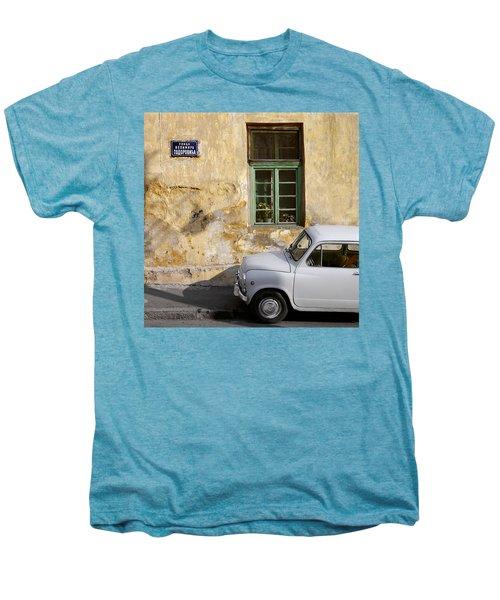 Fiat 600. Belgrade. Serbia Men's Premium T-Shirt