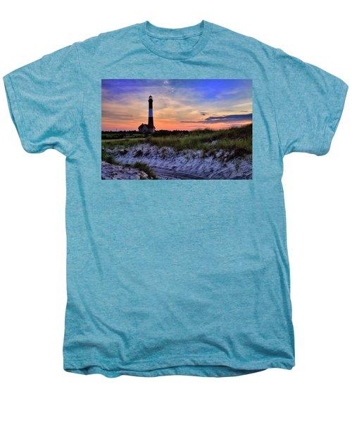 Fire Island Lighthouse Men's Premium T-Shirt