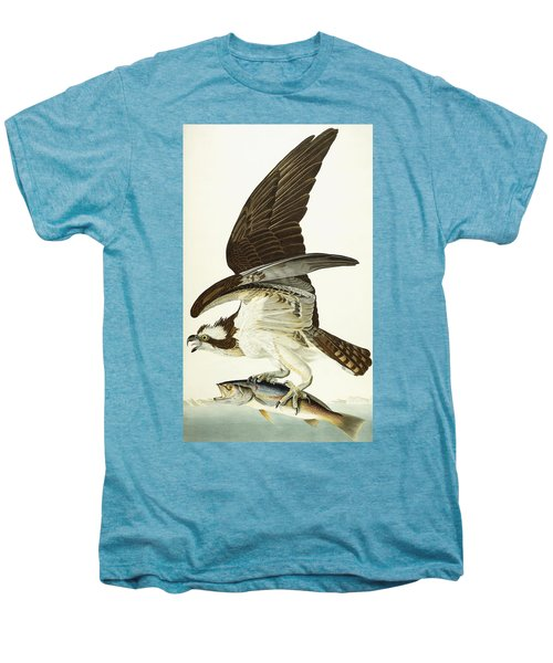 Fish Hawk Men's Premium T-Shirt by John James Audubon