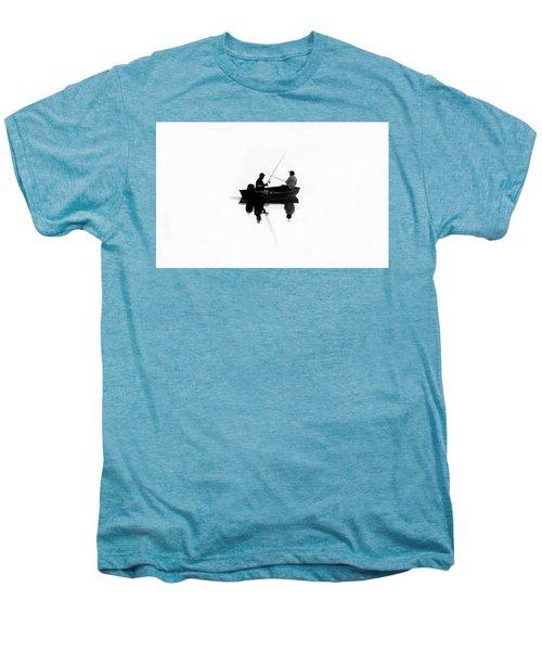 Fishing Buddies Men's Premium T-Shirt by David Lee Thompson