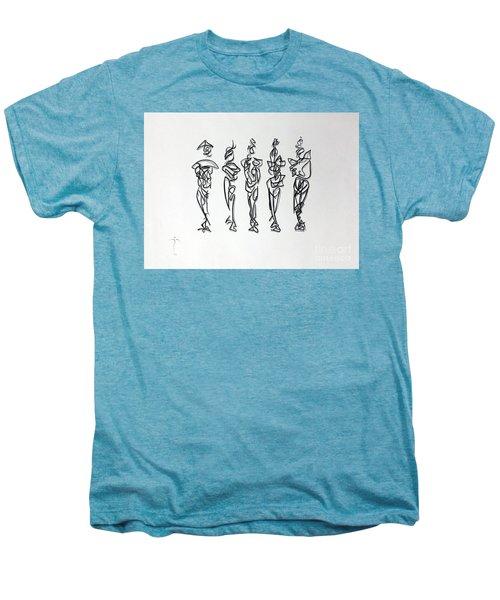Five Muses Men's Premium T-Shirt