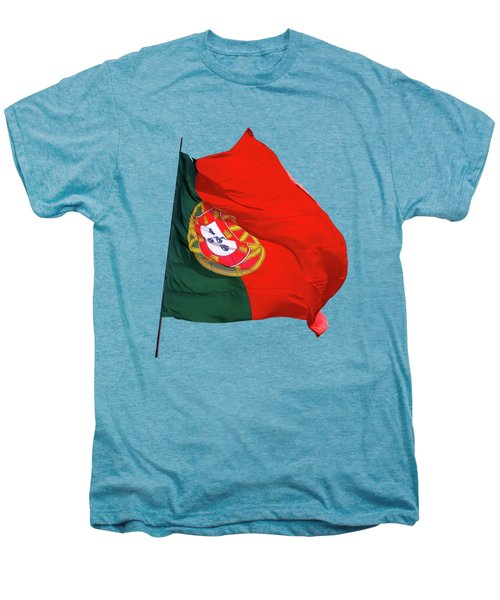 Flag Of Portugal Men's Premium T-Shirt