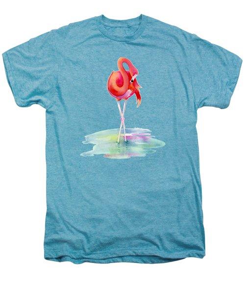 Flamingo Primp Men's Premium T-Shirt