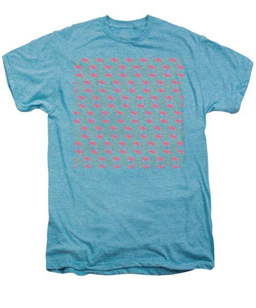 Flamingo Print Men's Premium T-Shirt