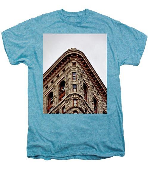 Flatiron Building Detail Men's Premium T-Shirt by Sandy Taylor