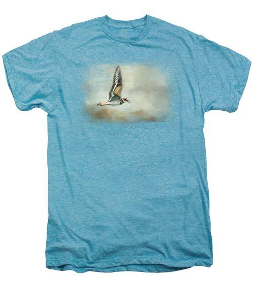 Flight Of The Killdeer Men's Premium T-Shirt by Jai Johnson